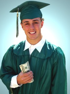 bigstockphoto got money for college  43465 225x300 Solutions for Student Loans with Bad Credit