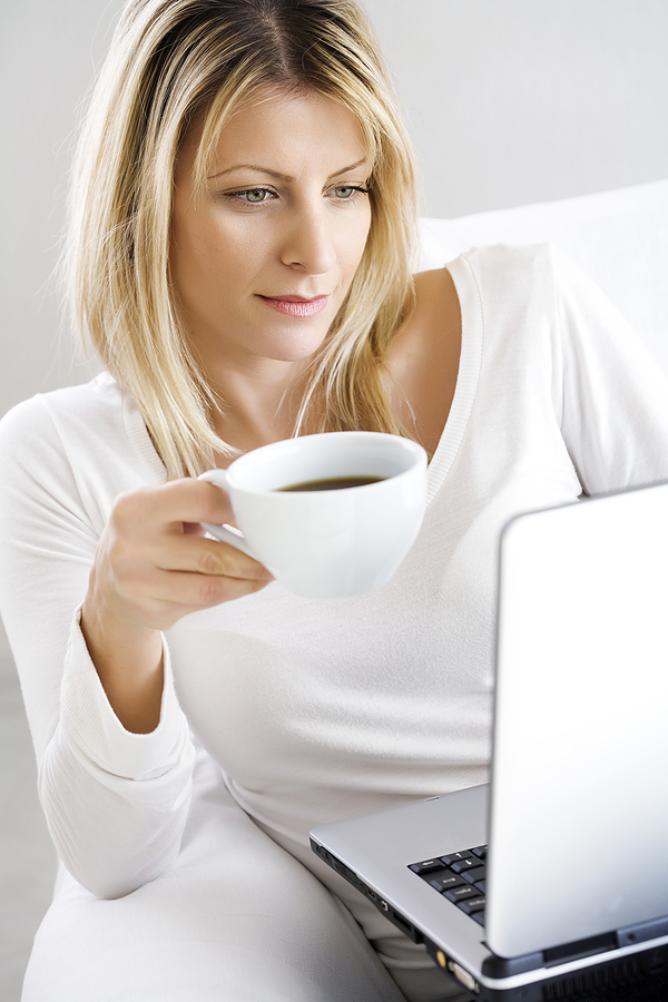 bigstock Coffee And Laptop 2810566 Credit Report After Bankruptcy Is Bleak – But There Is Still Hope For You